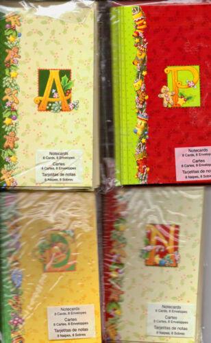 Mary Engelbreit CHRISTMAS Notecards~Several varieties~Monogram~BNIP~Nice!