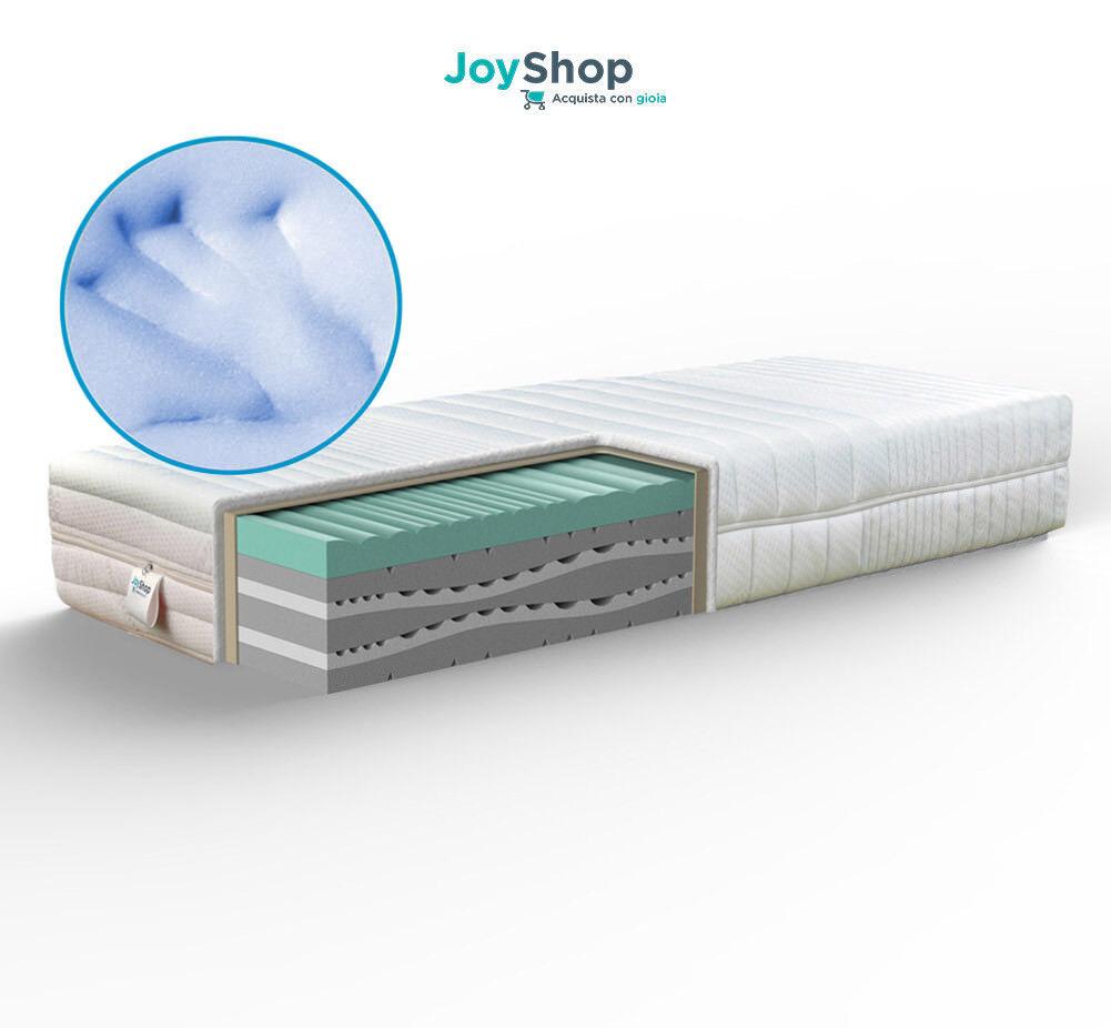 Olymp Matratze Multionda abnehmbar Memory Silber H25 Angebot FINE SERIE