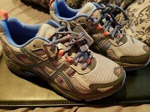Details about ASICS GEL VENTURE 5 T5N8N Blue & Gray Athletic Shoes Women's Sz 7.5, med. width