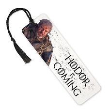 Hodor Is Coming, Stark, Game Of Thrones - Aluminium Metal Bookmark