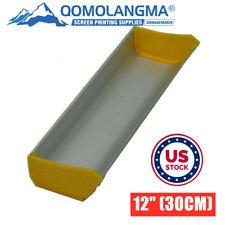 Usa Aluminum 12 30cm Emulsion Scoop Coater Tool Silk Screen Printing Press