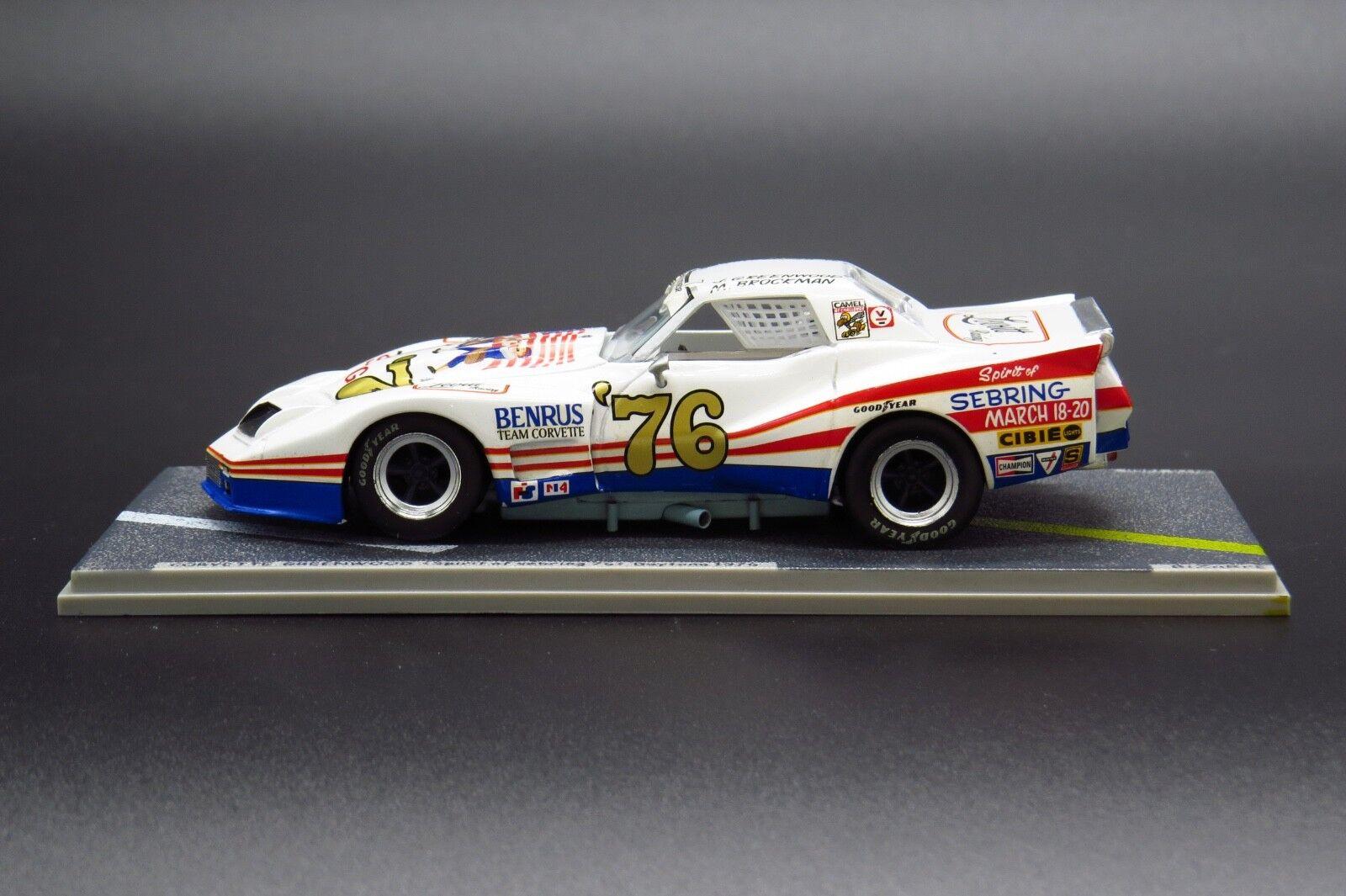 1 43 Bizarre Models Corvette Greenwood Spirit of Sebring Daytona BZ116