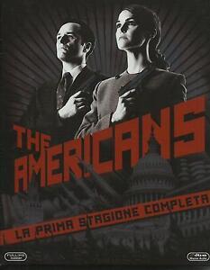 The-Americans-Serie-Tv-Stagione-1-Cofanetto-Con-4-Blu-Ray-Nuovo-Sigillato