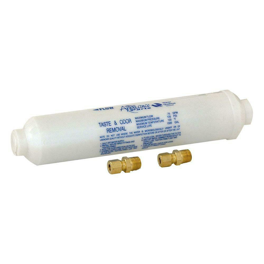 Case of 12 EZ-FLO 60461N In-Line Icemaker Water Filters 10 inch