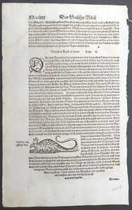 1574-Sebastian-Munster-Antique-Engravings-to-Text-of-Basiliscus-Byzantine-King