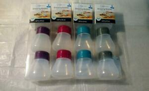 3 Pack Multiple Colors Mainstays Squeeze Dressing Bottles BPA Free You Pick