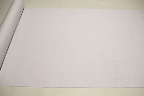 "Bright White 100/% Cotton Lawn Sheer Apparel Fabric Craft Shirting Dress 56/"" Wide"