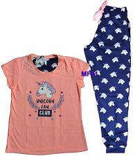 item 5 Ladies Unicorn fan Club Pyjamas Womens Emoji T Shirt Pajamas Girls  PJ s Primark -Ladies Unicorn fan Club Pyjamas Womens Emoji T Shirt Pajamas  Girls ... e1235b9a0