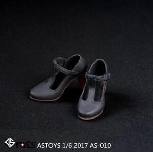 New-ASTOYS-1-6-Scale-Female-Grey-High-Heel-Shoes-For-12-034-Women-Figure-Body