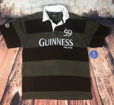 Guinness Navy And Natural Colour Polo Shirt With 1759 Ireland Crest