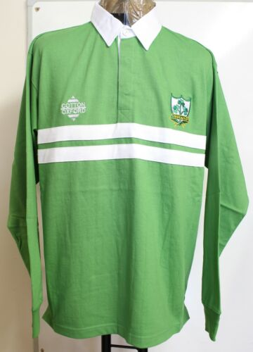 IRELAND RUGBY SUPPORTERS JERSEY BY COTTON OXFORD SIZE MEN/'S MEDIUM BRAND NEW