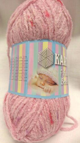 1 pelote de laine layette de 100 gr  très douce et légère