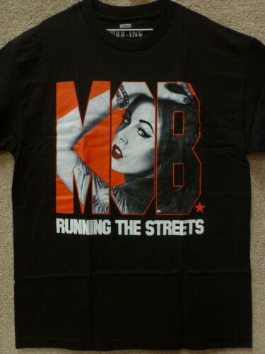 """Color Black MOB INC Men T-Shirt /""""Running/"""""""