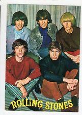 cartolina postcard - SILVECART ROLLING STONES