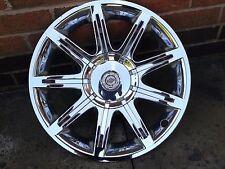 "Chrysler 300c 18"" Chrome Wheel Trim Alloy Face x1"