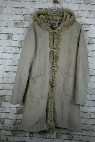 w474 20 Ben Leather Sherman No Size Uk16 2 Coat Suede 8SSx0TZnp
