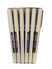 Uni Ball Vision Fine Point Purple Pen 6 Pack