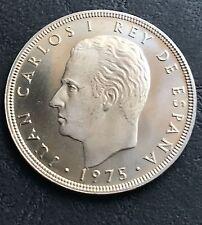 100 Pesetas De Juan Carlos 1975 *76 1976 Moneda S/C Calidad Proof 20 Duros Rey