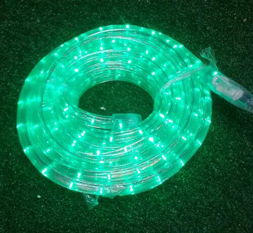 Neo-Neon Duralight 6 Metro LED Ultra Verde 216 LED INDOOR OUTDOOR luci FUNE