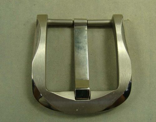 Ti Titanium Belt Buckle Belt Fastener Brushed Finish anti allergic for 38mm Belt
