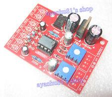 12V Dual Stereo Power VU Meter Driver Board Pre-amplifier DB Audio Level Meter