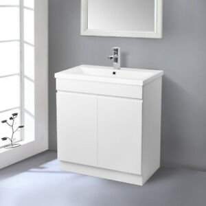 Bathroom Basin Sink Vanity Unit Floor Standing Cabinet ...