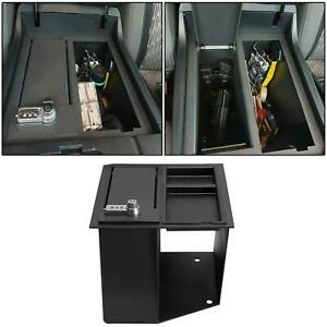 Console Safe Storge GUN W/ TRAY For 14-21 TOYOTA Tundra Replace for 00016-34174