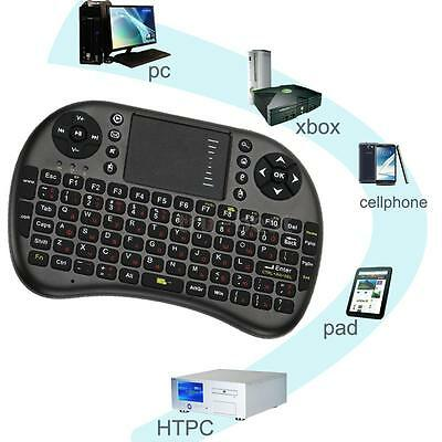 2.4G Mini USB Wireless Keyboard Touchpad Air Fly Mouse for Android TV Box B0Z4
