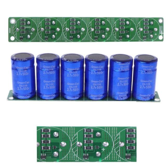 Farad Capacitor 2 7V 500F Super Farad Capacitance With Protection Board Sets