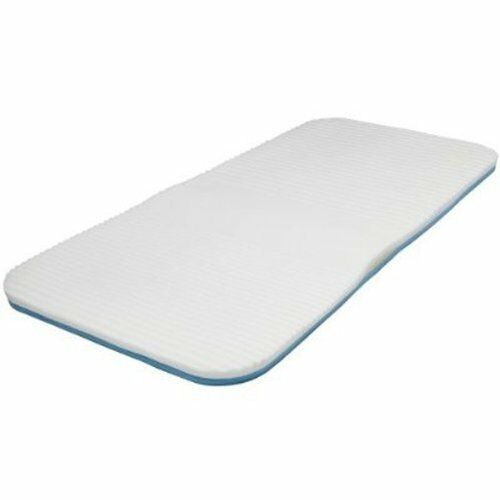 Queen Cloud Mattress Pad White Memory Foam