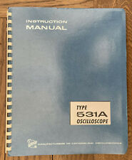 Tektronix 531a Oscilloscope Manual