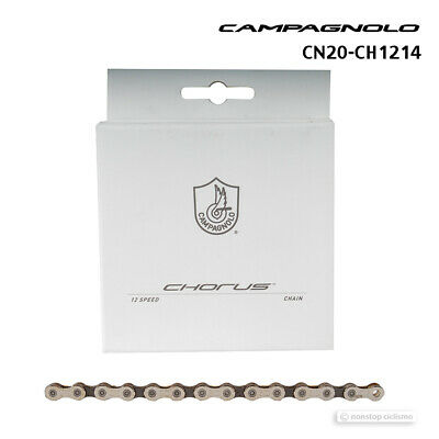 12-Speed 110 Links Silver//Gray Campagnolo Chorus Chain