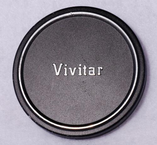 Vintage VIVITAR 62mm Metal Front Lens Cap Slip On Genuine OEM Piece