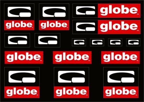 Globe Skate Shoes Vintage Oldschool Decal Kit Sticker Adhesive Set 16 Pcs