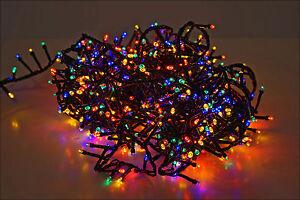 weihnachtsbaum lichterkette 700 led bunt innen au en. Black Bedroom Furniture Sets. Home Design Ideas
