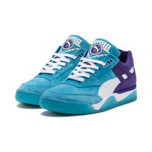 sale retailer cf5df 408a3 Image is loading Puma-Basketball-Hoops-Palace-Guard-Queen-City-Atoll-