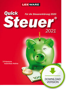 QuickSteuer 2021 (für Steuerjahr 2020), Download, Windows