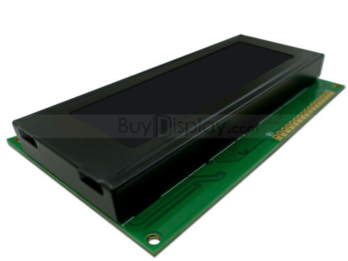 5V Black 20x4 Character LCD Module Display w//Tutorial,HD44780 Controller,Bezel