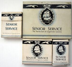 Senior-Service-Cigarette-Pack-Collection