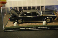 JAMES BOND CARS COLLECTION 048 LINCOLN CONTINENTAL GOLDFINGER