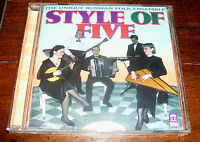 Cd: Style Of Five - Style Of Five (self Titled) 2000 Delos Russian Ensemble