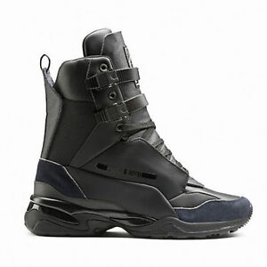 517bc0f2c64 New Men s Puma McQ Tech Runner Mid Shoe Boot Style 361487-02 Black ...