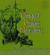 Ehret eure Meister: Hunting Music in Lower Austria CD LIKE NEW Jagdhorn Akademie