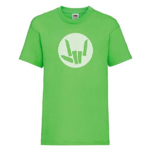 Share The Youtuber T-Shirt Lime Green STL Love Girls Boys Kids T-Shirt