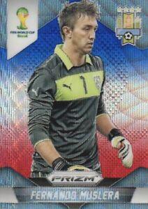 2014 Prizm FIFA World Cup Soccer Blue Red Wave #189 Fernando Muslera Uruguay