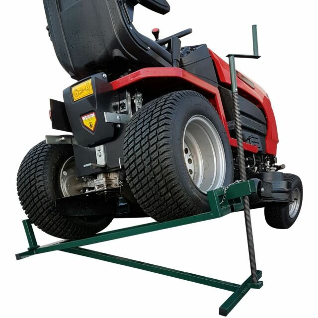 Ride On Lawn Mower Lift 400kg Lifting Device Ramp Garden Tractor Jack Lifter