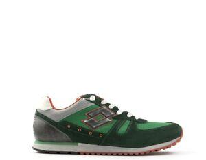 Scarpe-LOTTO-LEGGENDA-Sneakers-Pelle-naturale-Scamosciato-Tessuto-R7026V