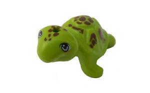 Lego-Schildkroete-limette-Tier-Zoo-Tierpark-Tiere-11603pb01-Turtle-lime-Neu