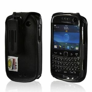Turtleback-Blackberry-Bold-9900-Leather-Fitted-Phone-Case-with-Plastic-Belt-Clip