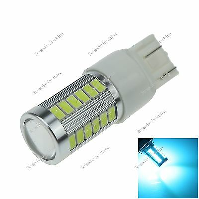 1X Ice Blue 7443 T2033 5730 SMD LED Brake Turn Signal Rear Light Bulb Lamp G024